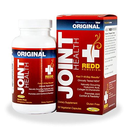 Remèdes santé mixte Original des nids - Membrell Joint Health Supplement - réduit la souffrance du tissu conjonctif et de problèmes articulaires - favorise la souplesse des & articulations confort - 90 Capsules végétariennes