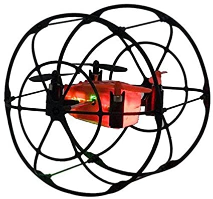 Amazon Com Odyssey Toys Turbo Runner Nx Rc Drone Black Red