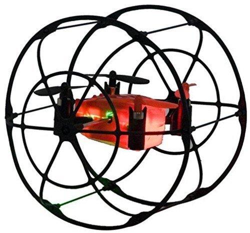 Amazon Com Odyssey Toys Turbo Runner Nx Rc Drone Black Red