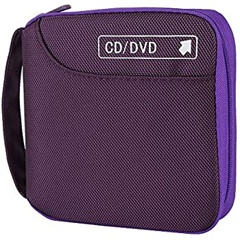 Amazon.com: Siveit 80 Capacity CD/DVD Case Wallet VCD ...