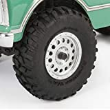 Axial SCX24 1967 Chevrolet C10 RC Crawler 4WD Truck RTR with LED Lights, 3-Ch 2.4GHz Transmitter, Battery, and USB Charger: (Light Green) AXI00001T1
