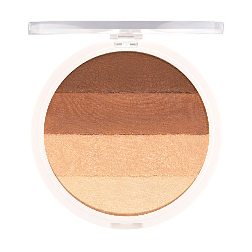 4-in-1 Matte/Shimmer Powder Bronzer. Coconut Extract for Radiant Glow – UNDONE BEAUTY Warm Up Bronzer. Buildable, Contouring, Strobing & Highlighting for Face/Body. Vegan & Cruelty Free. WARM BRONZE