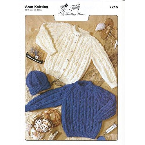 Aran Knitting Patterns For Children Amazon