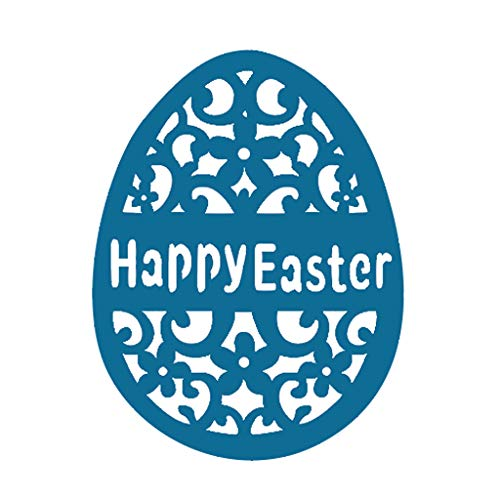 Ningyi683 Happy Easter Egg Metal Cutting Dies Stencil DIY Scrapbooking Album Stamp Paper Card Embossing Crafts Decor