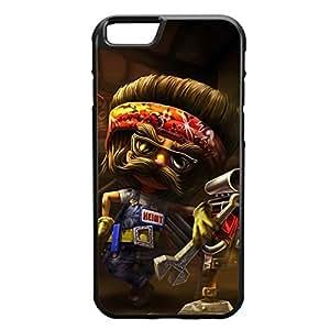 Heimerdinger-002 League of Legends LoL case cover for Apple iPhone 6 - Rubber Black