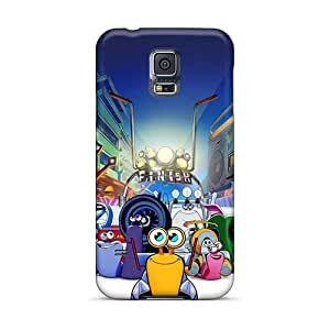 Durable Hard Phone Cover For Samsung Galaxy S5 (Gvc744Baqc) Support Personal Customs Vivid The Croods Series