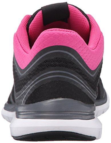 Ryka Womens Charisma Walking Shoe Black/Pink/Grey MZepS9