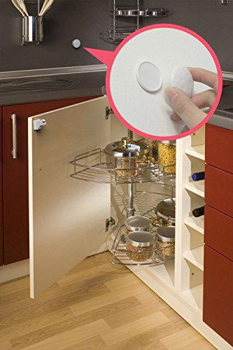 Sure Basics Baby Proofing Magnetic Child Safety Locks, 4 Pack, 1 Key by Sure Basics (Image #6)