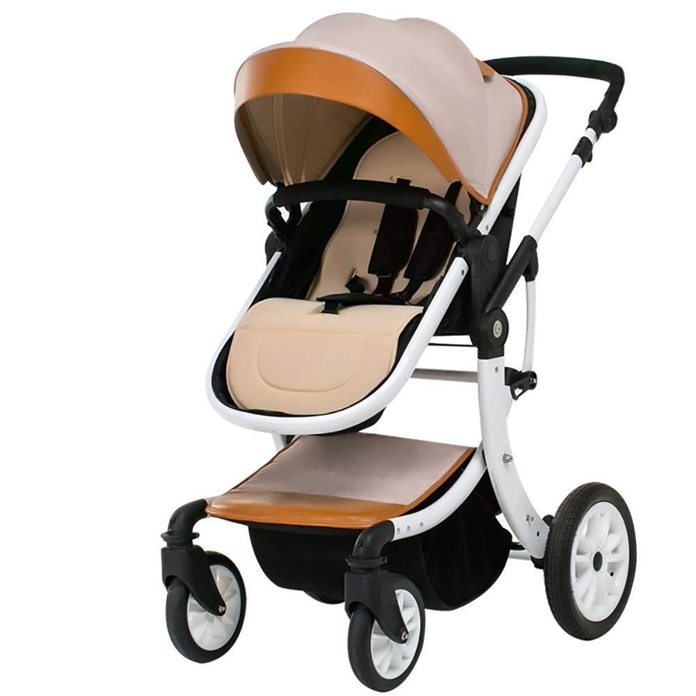 TYUIO ベビーカー、幼児用幼児用キャノピー付きポータブル軽量ベビーカー、幼児、男の子と女の子、男女兼用3ヶ月以上 (Color : A)  A B07SYPHD3K