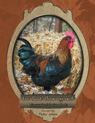Barnyard Grayscale Coloring Book product image