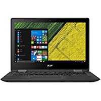Acer Spin3 15.6 FHD IPS Touchscreen 2-in-1 Laptop - 12GB DDR4, 1TB Solid State Drive, Intel Core i7-7500U, Webcam, Backlit Keyboard, Bluetooth, Windows 10