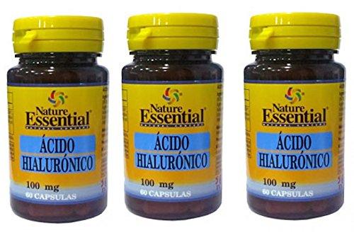 Nature Essential Ácido Hialuronico - 60 Cápsulas: Amazon.es: Salud y cuidado personal