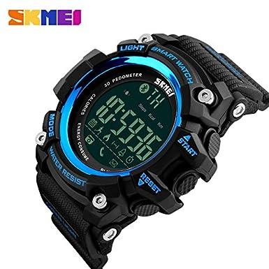 Amazon.com: Mastop Men Outdoor Sport Smart Watch Fashion ...