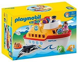 Playmobil - Barco, maletín (69570)