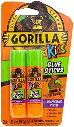 Gorilla Disappearing Purple School Sticks