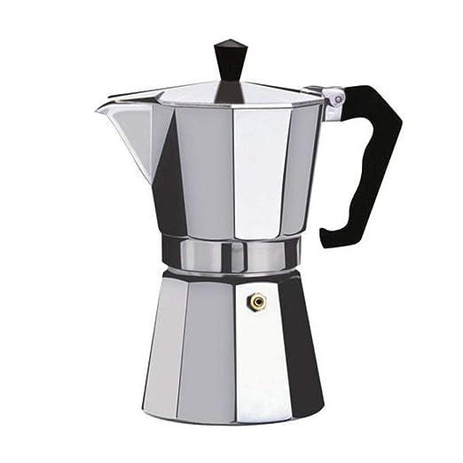Panamami Cafetera Aluminio Mocha Espresso Percolator Pot Cafetera ...