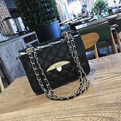 ZHANGJIA black Chaîne Sac Fashion Épaule nombre Un Unique Spankit grand Seule Madame L'Épaule Sac De Fausser Diamant prqf6wpSx