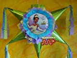 "PINATA The Princess and The Frog Piñata Hand Crafted 26""x26""x12""[Holds 2-3 Lb. Of Candy][for Any Ocasion]"