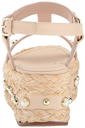 clearance with mastercard Stuart Weitzman Women's Beraffia Wedge Sandal Pan Vachetta buy cheap Cheapest 2014 newest outlet cheapest price wnVqm7S5