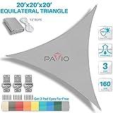 Patio Paradise 20' x 20' x 20' Light Review and Comparison