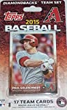 2015 Topps Arizona Diamondbacks Factory Sealed Special Edition 17 Card Team Set with Paul Goldschmidt Plus