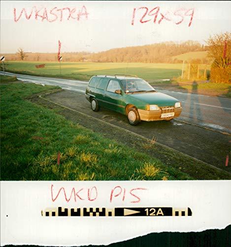 Vintage photo of motor car vauxhall bedford diesel van. ()