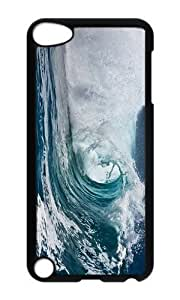 Ipod 5 Case,MOKSHOP Awesome row sea Hard Case Protective Shell Cell Phone Cover For Ipod 5 - PC Black