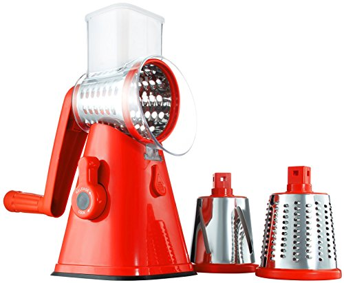 inning/Rotating Mandoline and Countertop Food Slicer, Chopper, and Grater As Seen On TV (Slicer Grater)