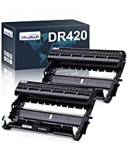 $24 » OfficeWorld Compatible Drum Unit Replacement for Brother DR420 DR-420 DR 420 for HL-2270DW HL-2280DW HL-2230 HL-2240 MFC-7360N MFC-7860DW DCP-7065DN Intellifax 2840 (2-Pack)