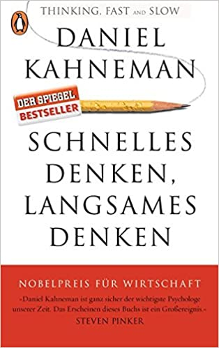 Cover des Buchs: Schnelles Denken, langsames Denken