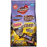 MARS Chocolate Variety Mix Candy Bars (60-Piece)