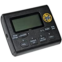 Klein Electronics PCR-SCAN-VHF PitCrew Race VHF Scanner, 50 Memory Channels/PC Programmable, Frequency Scanner with clear audio/earpieces included, FM radio built-in, Frequency Band for Scanner 140.000 – 170.00 MHz