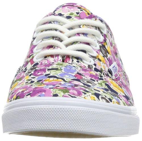 U Wei Violet Bas Authentic Blanc Violet Adulte floral Lo Pro Vans floral White Mixte dqYwXHxPd5