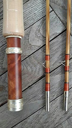 New Flamed Bamboo Fly Rod,6'6