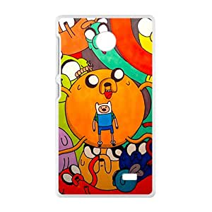 Personal Customization Aadventure time Case Cover For Nokia Lumia X