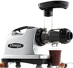 Omega J8006 Nutrition Center masticating Dual-stage Juicer Juice Extractor