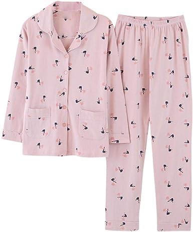 Long Lady Pijamas Servicio De Impresión De Algodón Servicio A ...