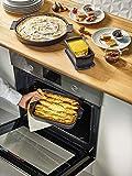 Peugeot Appolia, 32cm Rectangular Baking Dish, 10.2 x 7.9 x 2.6 inch interior, Ecru