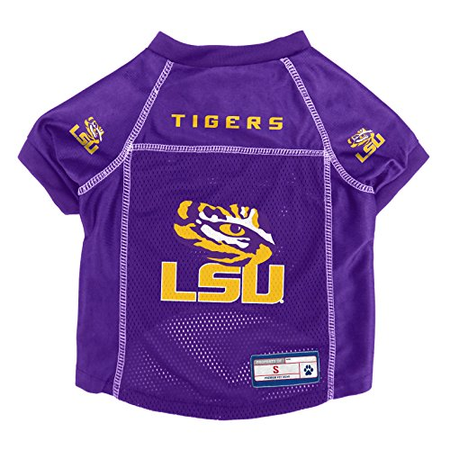 NCAA LSU Tigers Pet Jersey, Medium