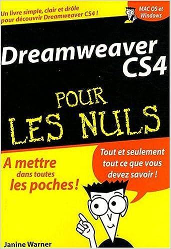 Livre gratuits en ligne Dreamweaver CS4 pdf, epub