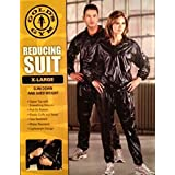 Gold's Gym Zipper Top Reducing Suit (Sauna Suit), X-Large by Golds Gym