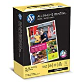 HP Printer Paper, All In One22, 8.5 x 11, Letter, 22lb, 96 Bright, 750 Sheets BONUS REAM / 1 Ream (207750R) Made In The USA