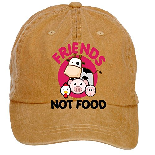 hat Friend Not Food Baseball Cap