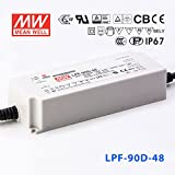 Meanwell LPF-90D-48 Power Supply - 90W 1.88A - Dimmable