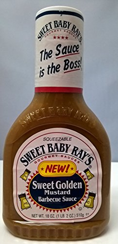 Sweet Baby Ray's Sweet Golden Mustard Barbecue Sauce ( Pack of 2 )