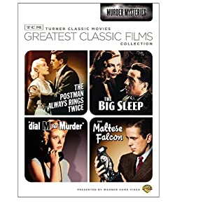 TCM Greatest Classic Films Collection: Murder Mysteries (The Maltese Falcon / The Big Sleep / Dial M for Murder / The Postman Always Rings Twice 1946) (2009)