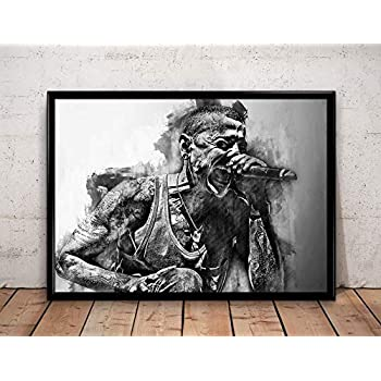 Linkin Park One More Light Giclee Canvas Album Cover Picture Art