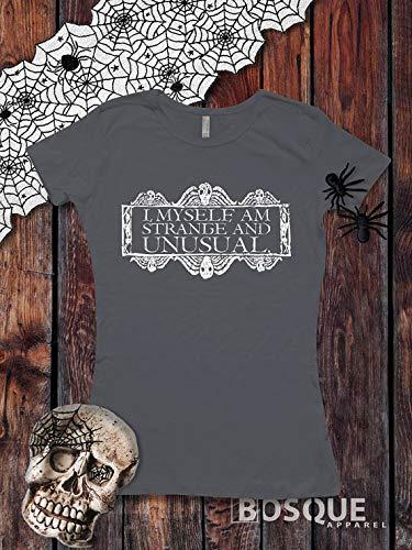 I, Myself, Am Strange and Unusual Halloween Beetlejuice inspired T-Shirt - Ink Printed