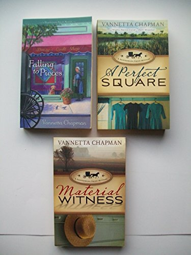 Shipshewana Amish Mysteries (3 Set) Falling to Pieces; A Perfect Square; Material ()