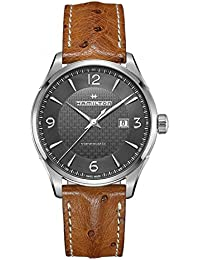 Men's Hamilton Jazzmaster Viewmatic Leather Automatic Watch H32755851
